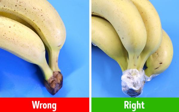 Cách bảo quản chuối trong tủ lạnh