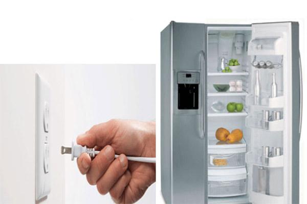 cách bảo quản tủ lạnh khi không sử dụng