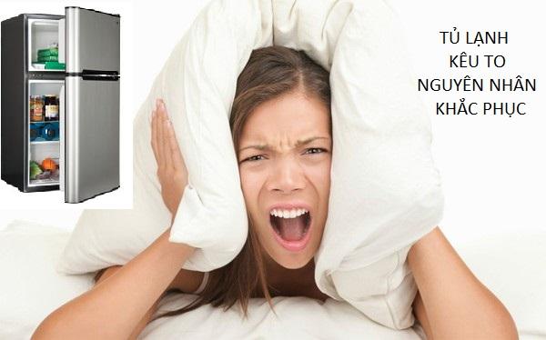 cách sửa tủ lạnh Hitachi Inverter kêu to
