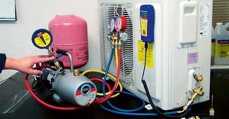 Vệ sinh máy lạnh – Bơm Gas điều hòa tại Đà Nẵng